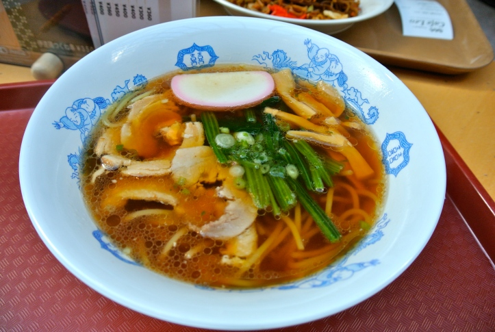 My last ramen in Japan, at Narita airport. This was a sad day.